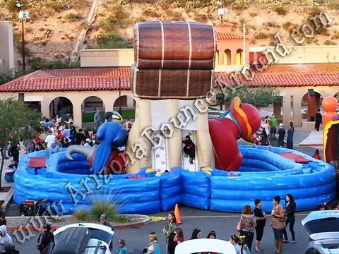 Pirate themed obstacle course rental Phoenix